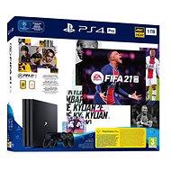 PlayStation 4 Pro 1 TB + FIFA 21 + 2× DualShock 4 - Herná konzola