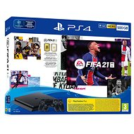 PlayStation 4 Slim 500GB + FIFA 21 + 2× DualShock 4 - Herná konzola