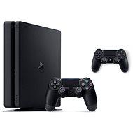 PlayStation 4 Slim 500 GB + 2x DualShock 4 - Herná konzola