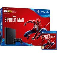 PlayStation 4 1 TB Slim + Spider-Man - Herná konzola