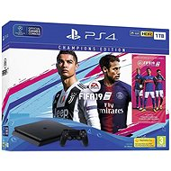PlayStation 4 1 TB Slim + FIFA 19 Champions Edition - Herná konzola