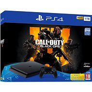 PlayStation 4 1 TB Slim + Call of Duty: Black Ops 4 - Herná konzola