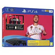 PlayStation 4 Slim 1TB + FIFA 20 + 2x DS4 ovladač