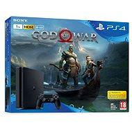 PlayStation 4 1TB Slim + God Of War - Herná konzola