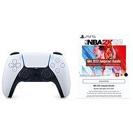 PlayStation 5 DualSense Wireless Controller + 2500 MyTeam Points NBA 2K22