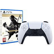 PlayStation 5 DualSense Wireless Controller + 2500 Points NBA 2K22 + Ghost of Tsushima: DC
