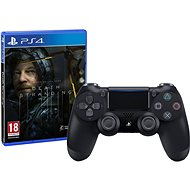 Sony PS4 Dualshock 4 V2 – Black + Death Stranding - Gamepad