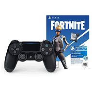 Sony PS4 Dualshock 4 V2 – Black + Fortnite Neo Versa Bundle - Gamepad