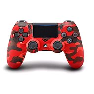 Sony PS4 Dualshock 4 V2 – Red Camouflage - Gamepad