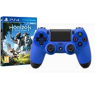 Sony PS4 Dualshock 4 V2 – Wave Blue + Horizon: Zero Dawn