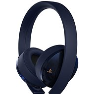 Sony PS4 Gold/Navy Blue Wireless Headset – 500M Limited Edition - Herné slúchadlá