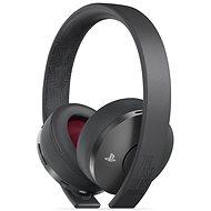 Sony PS4 Gold Wireless Headset Black – TLOU Part II Edition - Herné slúchadlá