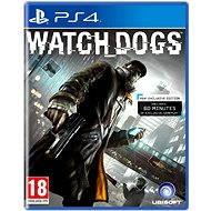 PS4 - Watch Dogs - Hra na konzolu