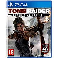 PS4 - Tomb Raider: Definitive Edition - Hra na konzolu