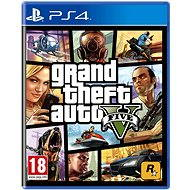 Grand Theft Auto V – PS4 - Hra na konzolu
