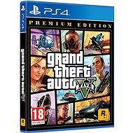 Grand Theft Auto V Premium Edition - PS4 - Hra na konzolu