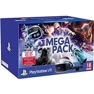 PlayStation VR Mega Pack pre PS4 (PS VR + Kamera + 5 hier)