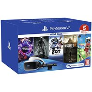 PlayStation VR Mega Pack 2 (PS VR + Kamera + 5 hier)