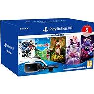 PlayStation VR Mega Pack 3 (PS VR + Kamera + 5 hier + PS5 adaptér) - Okuliare na virtuálnu realitu