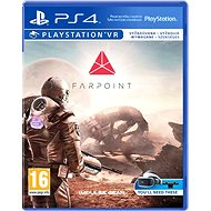 Farpoint - PS4 VR - Hra na konzolu