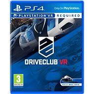 Driveclub VR – PS4 VR - Hra pre konzolu