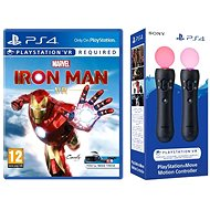 Marvels Iron Man VR – PS4 + 2 × ovládač PS Move - Hra na konzolu