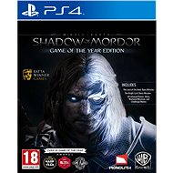 Middle Earth: Shadow of Mordor Game of The Year Edition – PS4 - Hra na konzolu