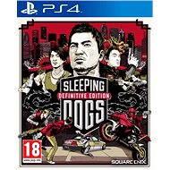 PS4 – Sleeping Dogs Definitive Edition - Hra na konzolu