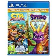 Crash Team Racing Nitro Fueled and Spyro Reignited Trilogy Bundle – PS4 - Hra na konzolu