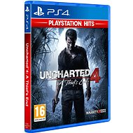 PS4 - Uncharted 4: A Thief´s End - Hra na konzolu