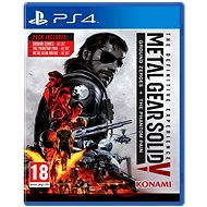 Metal Gear Solid 5: The Phantom Pain Definitive Experience – PS4 - Hra na konzolu