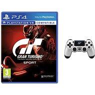 Gran Turismo Sport + DS4 ovládač GT Sport - Hra pre konzolu