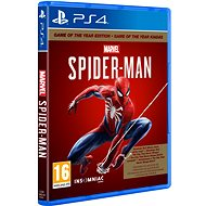 Marvels Spider-Man GOTY - PS4 - Hra na konzolu