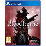 PS4 - Bloodborne GOTY edition - Hra pre konzolu