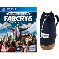 Far Cry 5 Deluxe Edition + Originálny batoh – PS4 - Hra pre konzolu