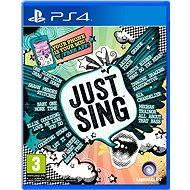 Just Sing - PS4 - Hra pre konzolu