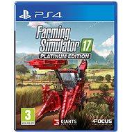 Farming Simulator 17 - Platinum Edition - PS4 - Hra pre konzolu