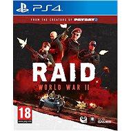 RAID: World War II - PS4 - Hra pre konzolu