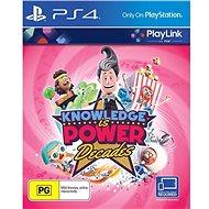 Knowledge is Power Decades – PS4 - Hra na konzolu