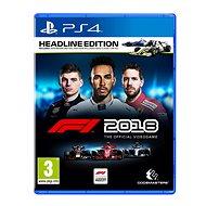 F1 2018 – PS4 - Hra na konzolu