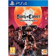 Black Clover Quartet Knights – PS4 - Hra na konzolu