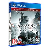 Assassins Creed 3 + Liberation Remaster – PS4 - Hra na konzolu