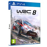 WRC 8 The Official Game – PS4 - Hra na konzolu