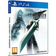 Final Fantasy VII Remake – PS4 - Hra na konzolu
