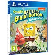 Spongebob SquarePants: Battle for Bikini Bottom – Rehydrated – PS4 - Hra na konzolu