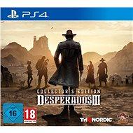 Desperados III – Collectors Edition – PS4 - Hra na konzolu