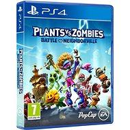 Plants vs Zombies: Battle for Neighborville – PS4 - Hra na konzolu