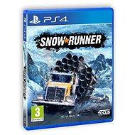 SnowRunner – PS4 - Hra na konzolu