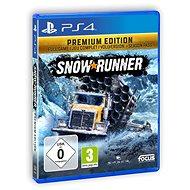 SnowRunner Premium Edition – PS4 - Hra na konzolu