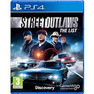 Street Outlaws: The List – PS4 - Hra na konzolu